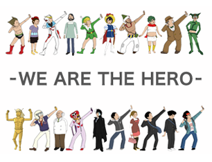 WE ARE THE HERO